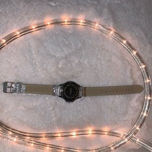 Accutime Watch Corp Jewelry - Silver Sparkle Watch